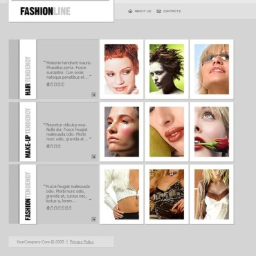 Fashion Store Flash Template