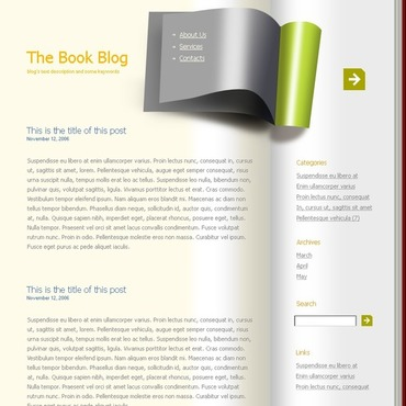 Books WordPress Theme