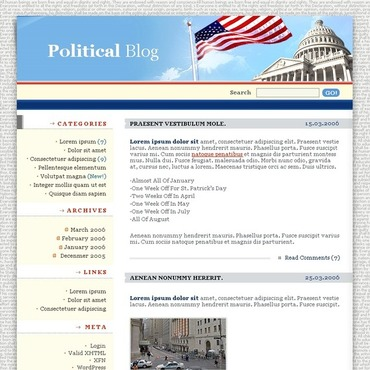 Political News WordPress Theme