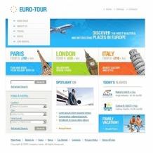 Travel Agency SWiSH Template