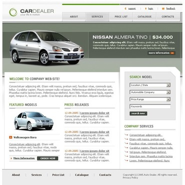 Car Dealer PhpBB Template