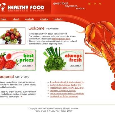 Food & Drink Flash Template