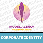 Model Agency Corporate Identity Template
