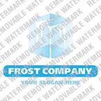 Frozen Food Logo Template