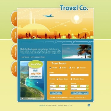 Travel PhpBB Template