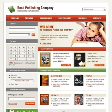 Publishing Company SWiSH Template