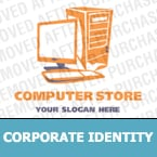 Computer Store Corporate Identity Template