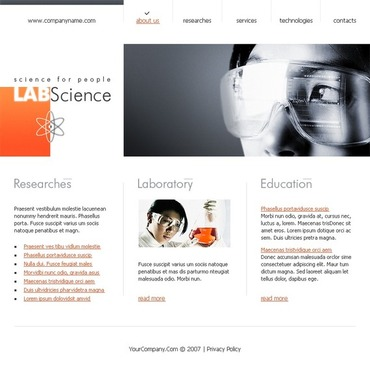 Science Flash Template