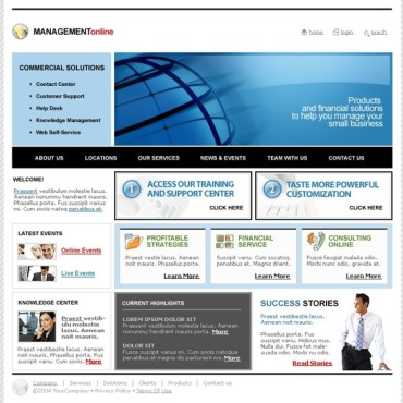 Management Company SWiSH Template