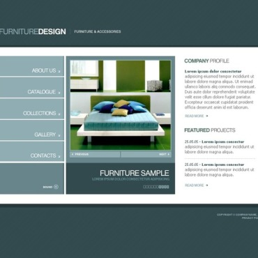 Furniture SWiSH Template