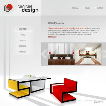 Furniture Flash Template