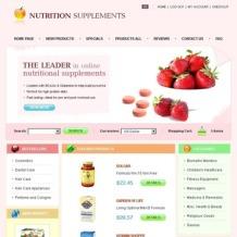 Nutrition Store ZenCart Template