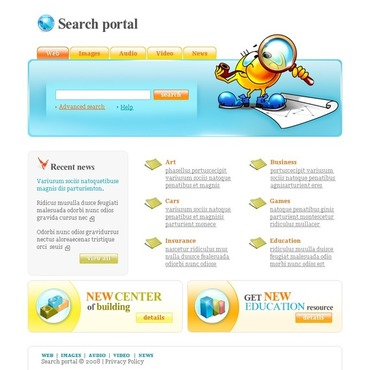 Neutral Website Template