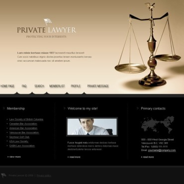Lawyer PhpBB Template