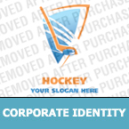 Hockey Corporate Identity Template