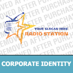 Radio Website Corporate Identity Template