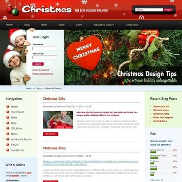 Christmas Drupal Template