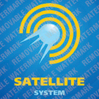 Satellite TV Logo Template