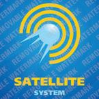 Satellite TV Logo Template