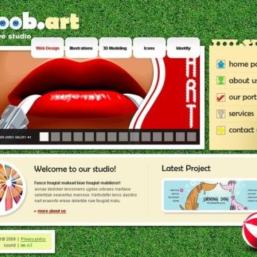 Web Design Flash Template