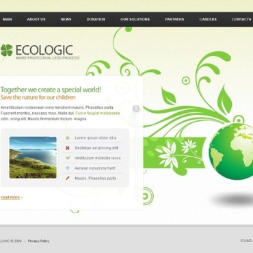 Environmental Flash Template