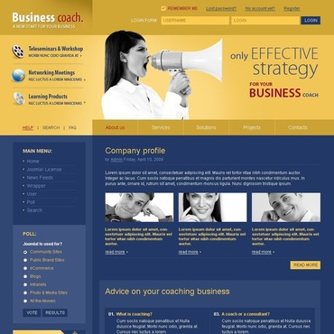 Business School Joomla Template