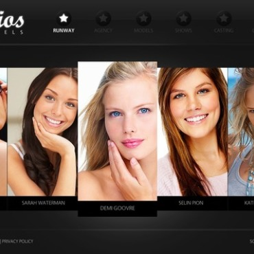 Model Agency Flash Template