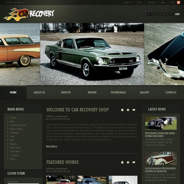 Car Repair Joomla Template