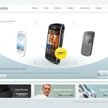 Mobile Company Flash Template