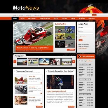 Motor Sports Joomla Template