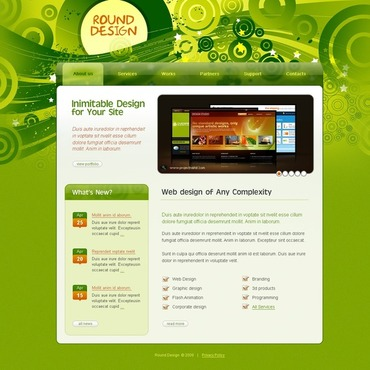 Web Design Website Template