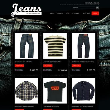 Jeans Magento Theme