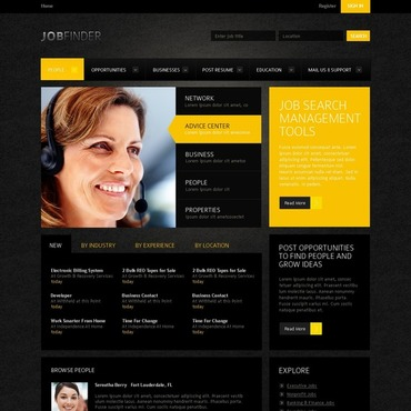 Job Portal Website Template
