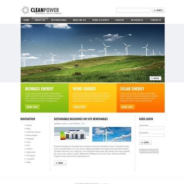 Wind Energy Drupal Template