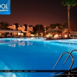 Pool Cleaning Flash Template