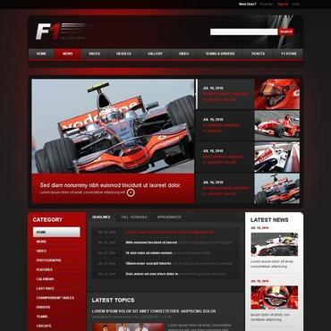 F1 Drupal Template