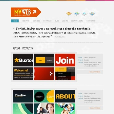 Web Design Website Template