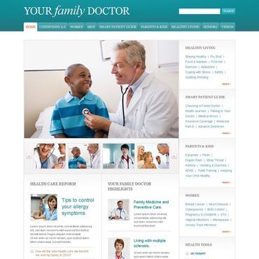 Pediatrician Website Template