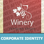 Winery Corporate Identity Template