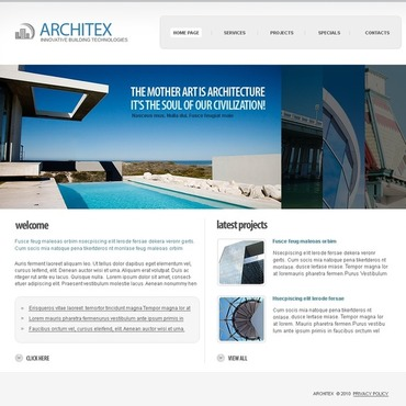 Architecture SWiSH Template
