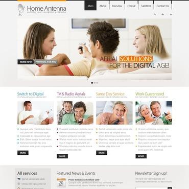 Satellite TV Turnkey Website 2.0