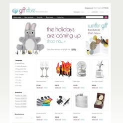 Gifts Store OsCommerce Template
