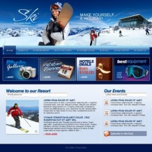 Skiing Turnkey Website 2.0
