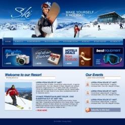 Skiing Turnkey Website 2.0