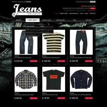 Jeans VirtueMart Template