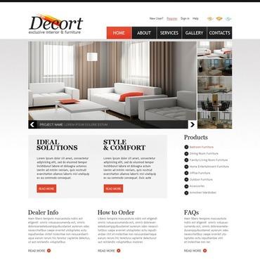 Interior & Furniture Website Template