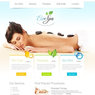 Beauty salon wordpress themes for A creative touch beauty salon