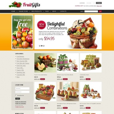 Fruit VirtueMart Template