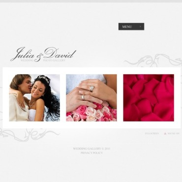 Wedding Album Facebook Flash Template