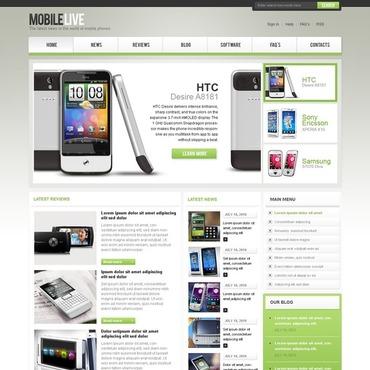 Mobile Store Joomla Template